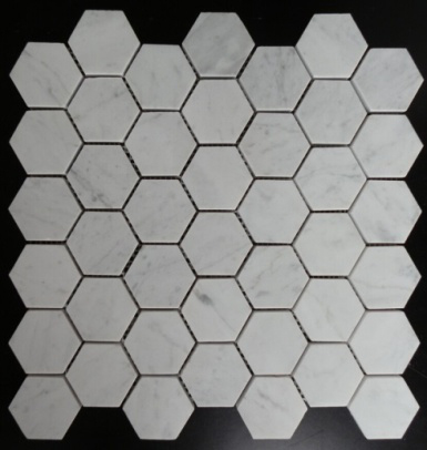 Carrara White Marble Mosaics
