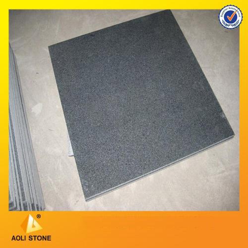 Cheap G654 Black Granite tile