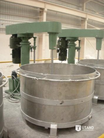 artificial quartz slab production line
