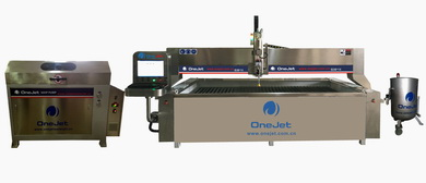 ONEJET waterjet cutting for stone cutting
