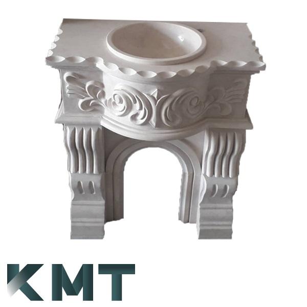 Pedestal Sink Wash Basin S-15025