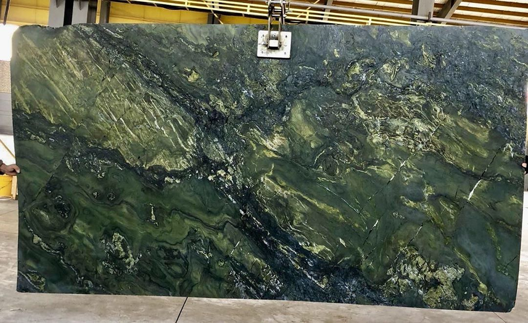 Green Granite Polished Slabs