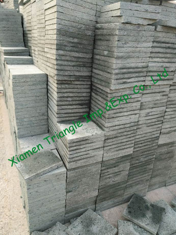 China Green Stone New Sukabumi ground paving tiles
