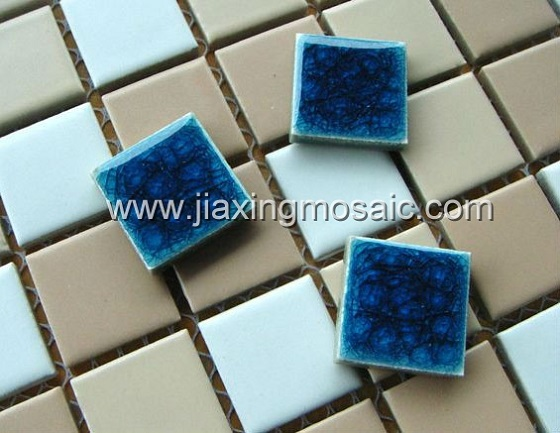 Ceramic swimming pool mosaic