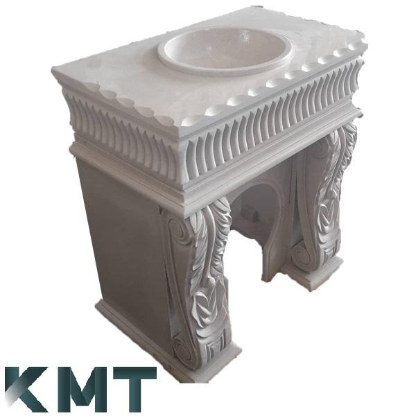 Pedestal Sink Wash Basin S-15026
