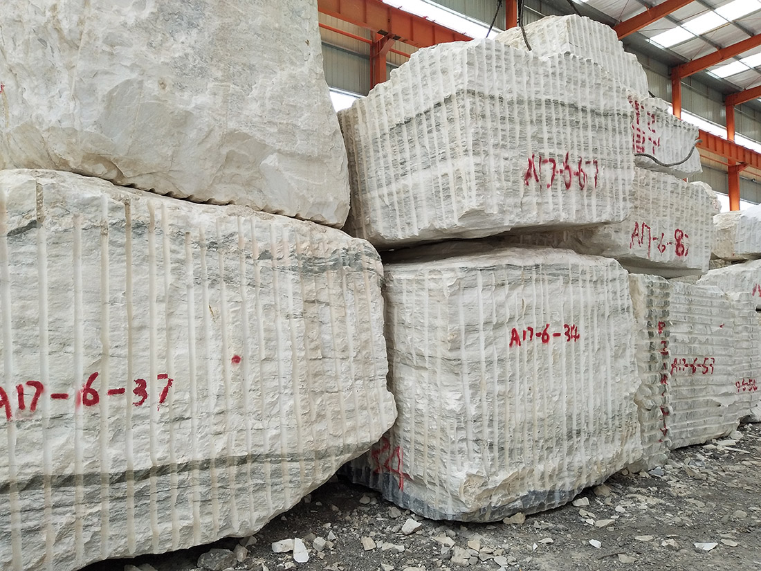 white marble quarry and factory owner supply blocks slabs tiles