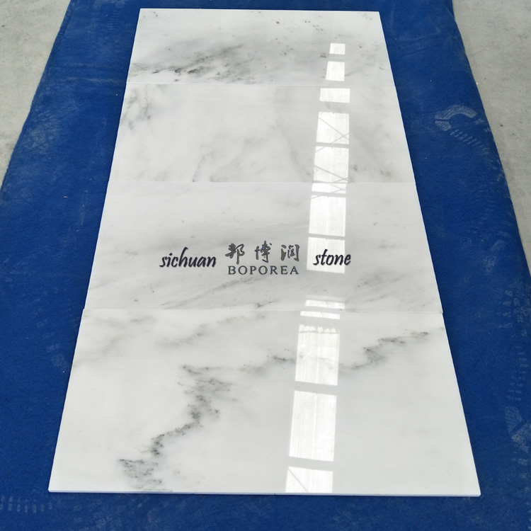Cheap price carrara marble blocks  marble tiles flooring for bathroom