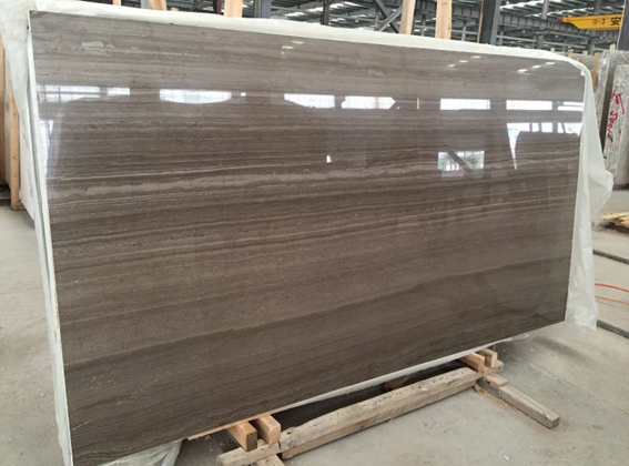 Coffee Wood Vein China Serpeggiante Marble New Eramosa Marble Slabs