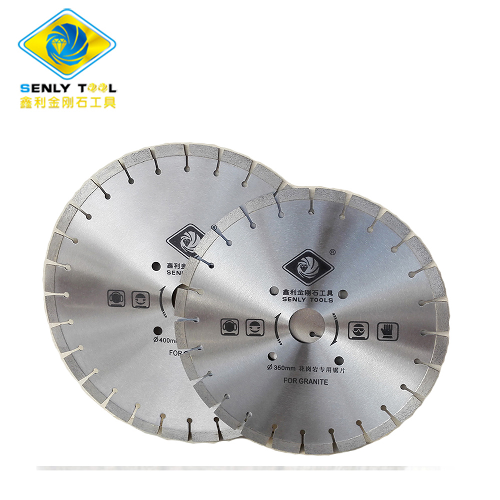 350mm and 400mm Diamond Saw Blade for Granite Cutting