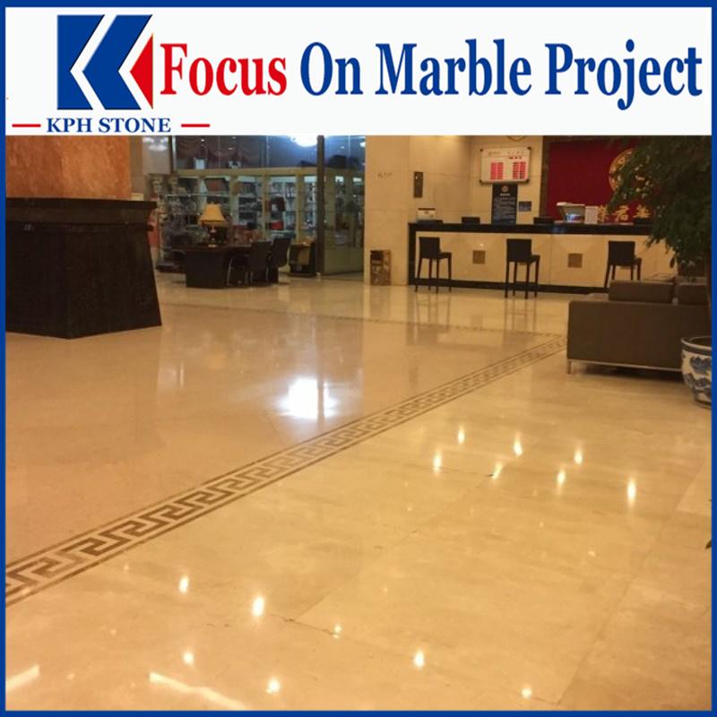 Golden Phoenix polished marble project design