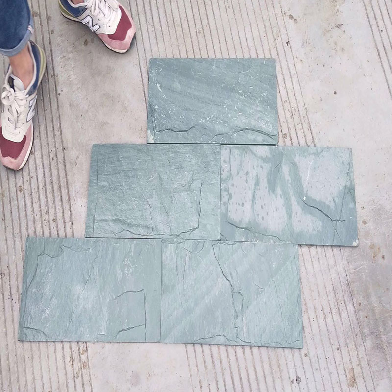 Slate Roof Tile Green