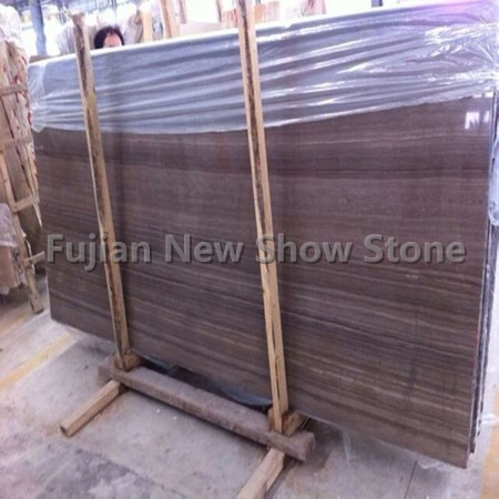 1.8cm Coffee Wood Marble