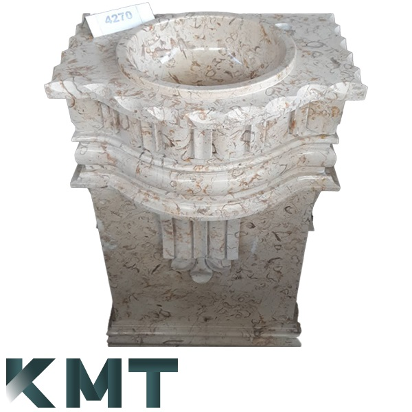 Pedestal Sink Wash Basin S-15027