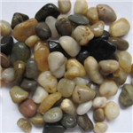 Mix color pebble stone