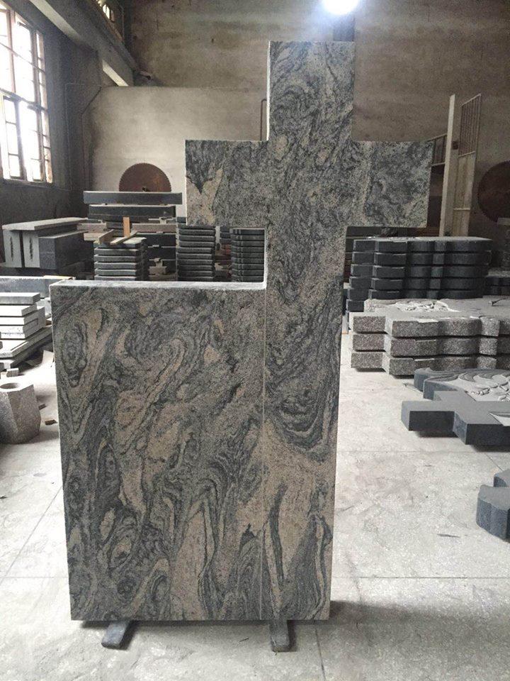 Grey granite monument