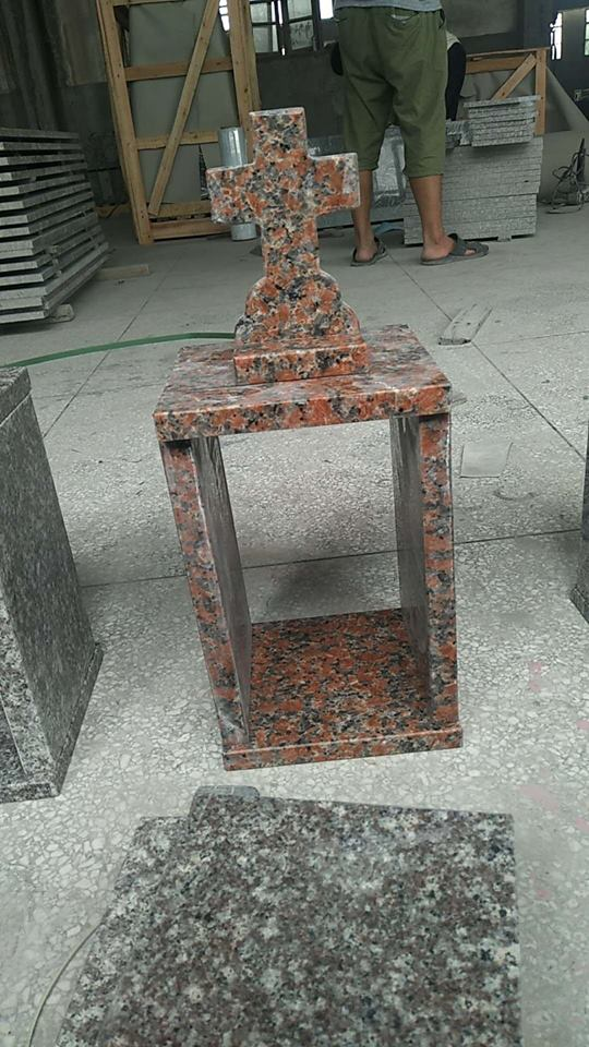 Granite red Tombstone