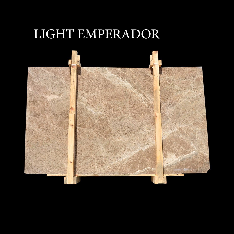 Light Emperador Slabs
