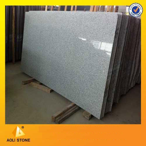 Silver grey granite slab and tile