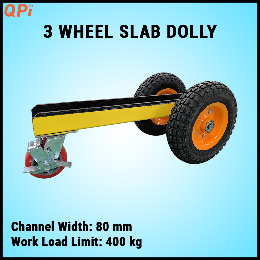 Quan Phong 3 Wheel Slab Dolly Trolley