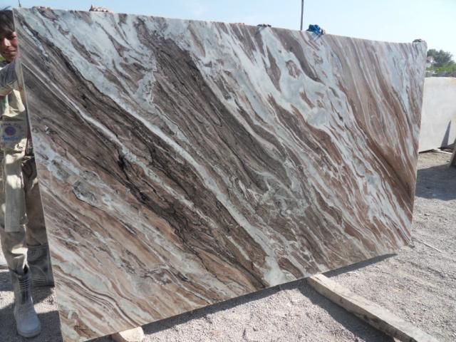 Toronto Brown Indian Marble Slabs