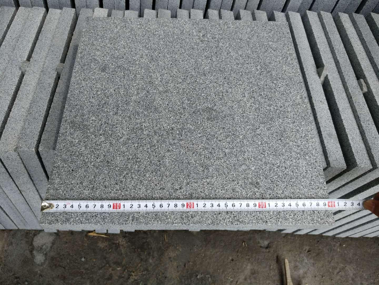 G654 Granite Tiles Flamed Grey Granite Tiles