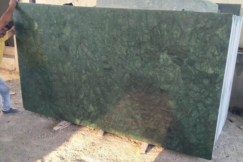 Polished Indian Green Marble Slabs