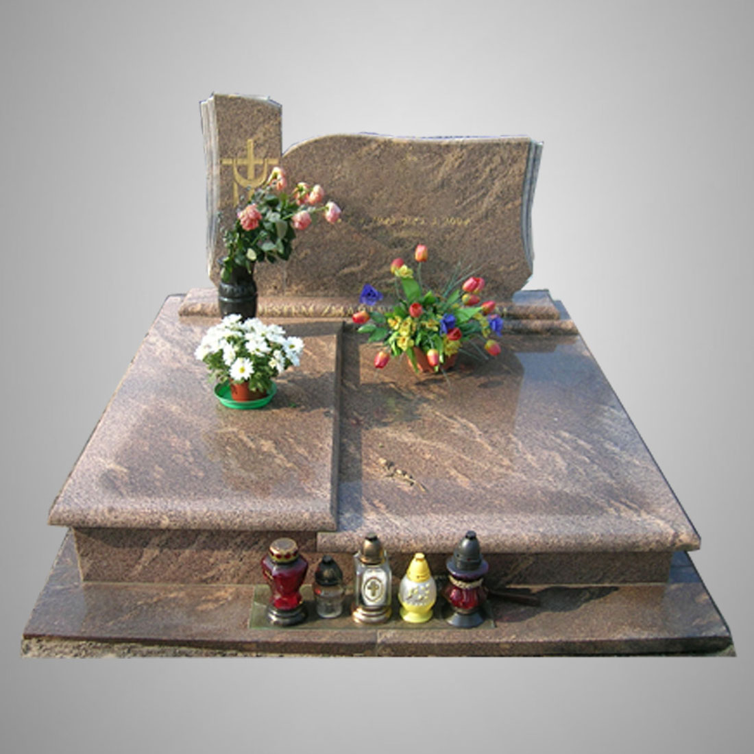 Modern Customized Granite Tombstone