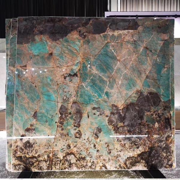 Luxury blue of stone