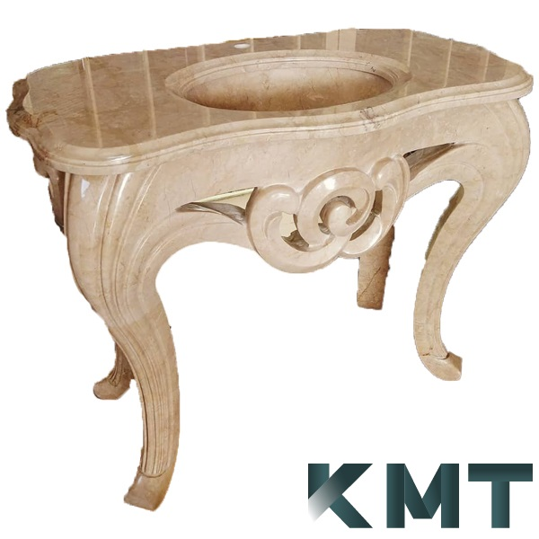 Pedestal Sink Wash Basin S-15035