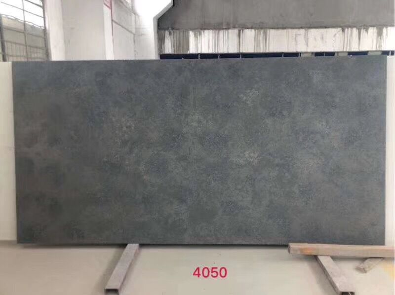 Dark Grey Quartz Slab