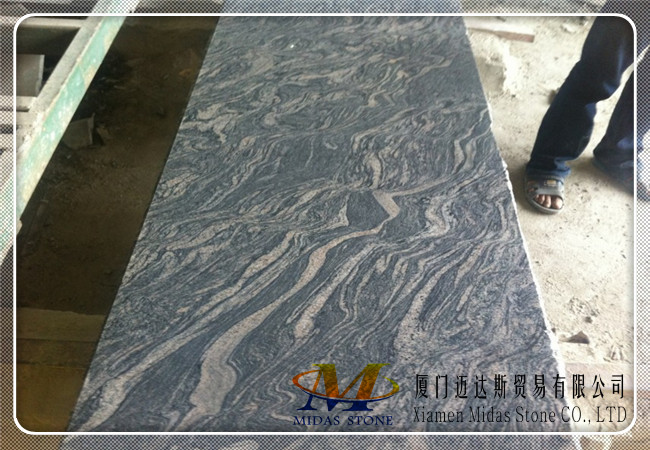 China Multicolour Grain Granite Countertops