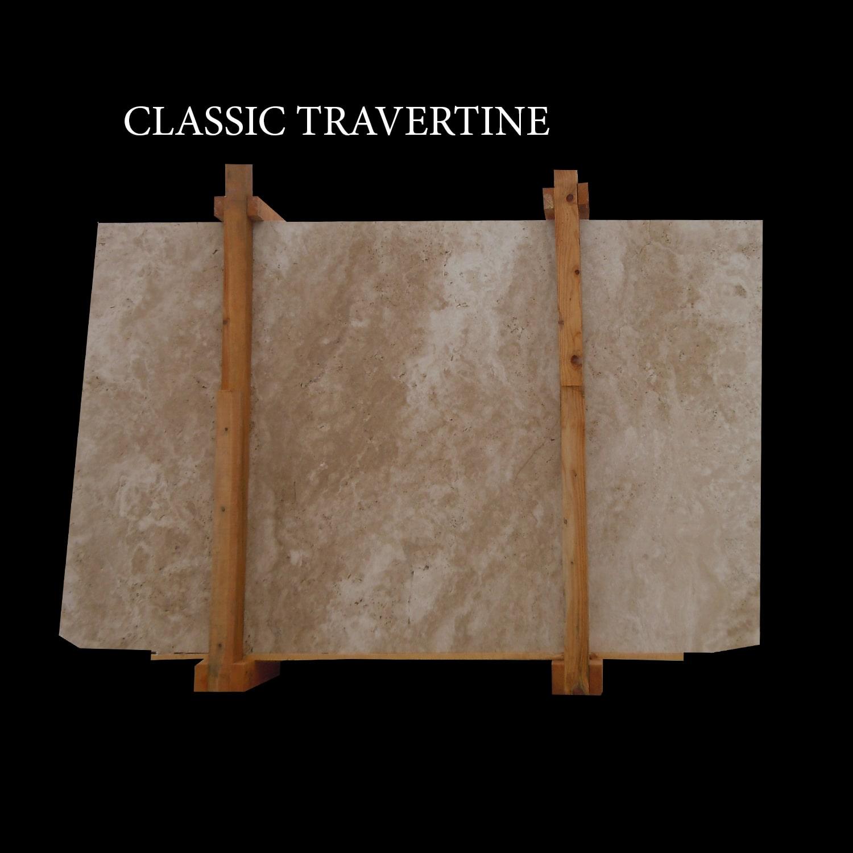 Classic Travertine Slabs