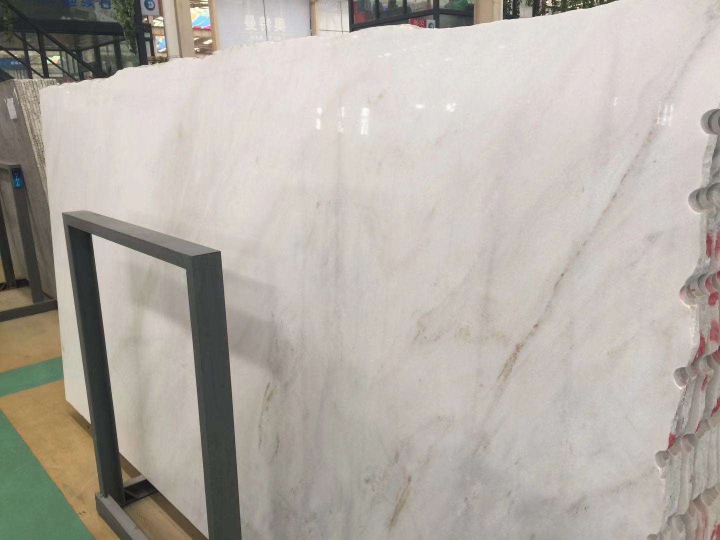 Competitive Calacatta White Marble Slabs