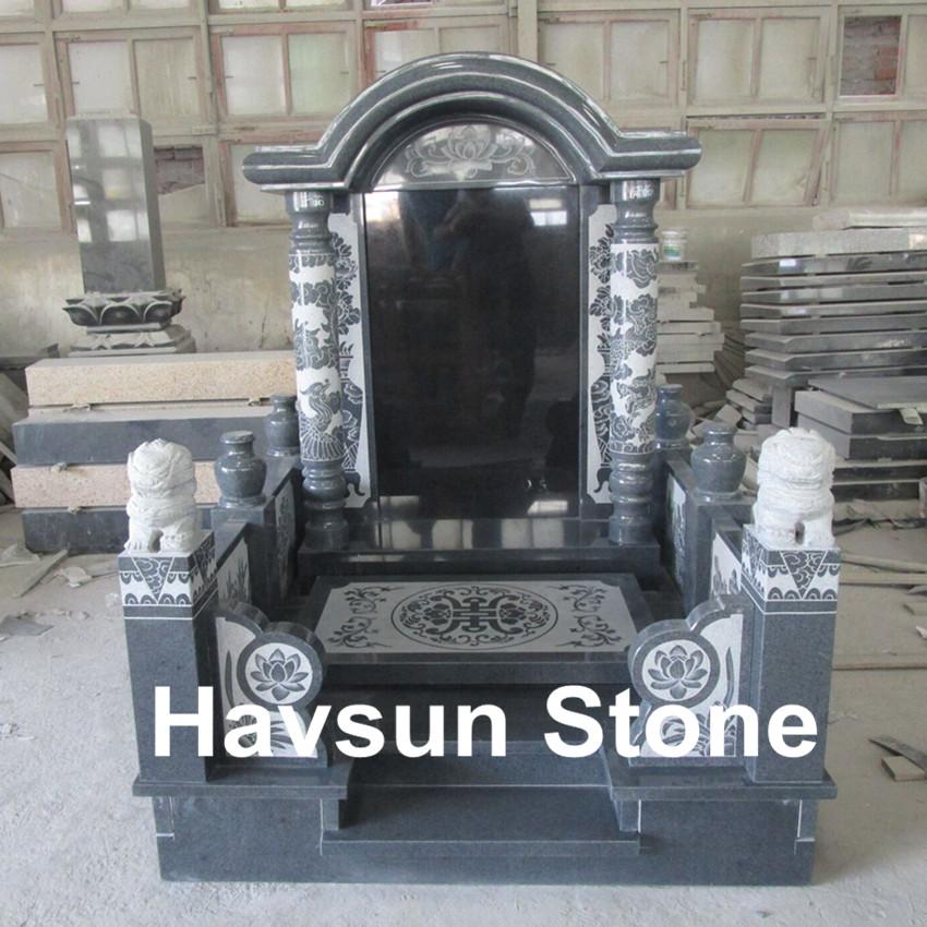 Vietnam Style Tombstone Monument Gravestone G654