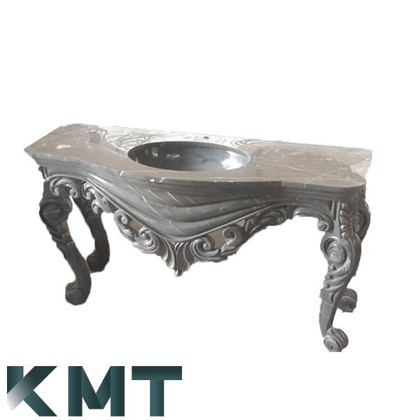 Pedestal Sink Wash Basin S-15036