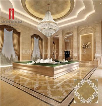 Foshan Water jet Golden Century Glazed Porcelain Floor Tile