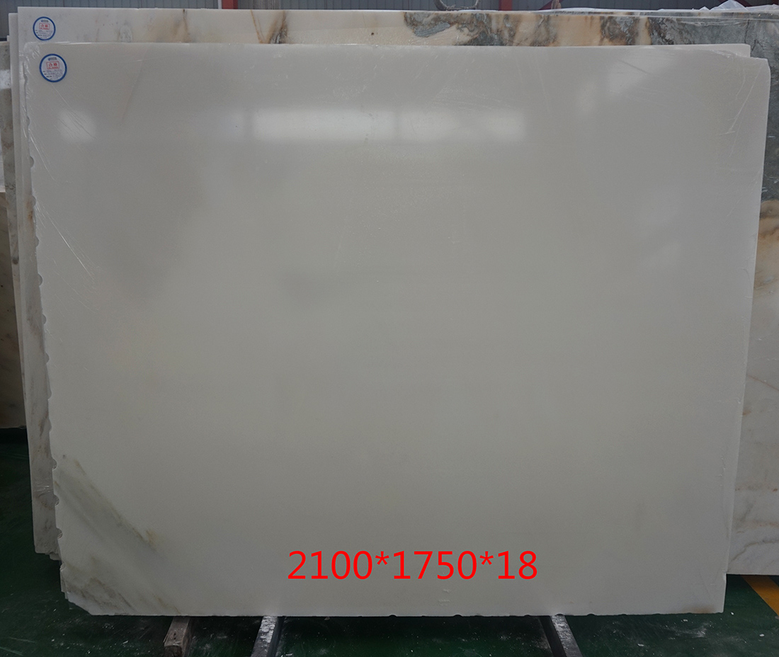 Bianco Rosa Marble Slabs 1.8cm Thickness