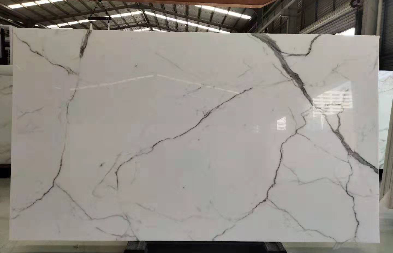 nano calacatta white crystallized