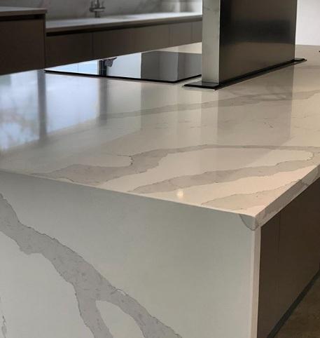 Calacatta Artificial quartz stone good quality