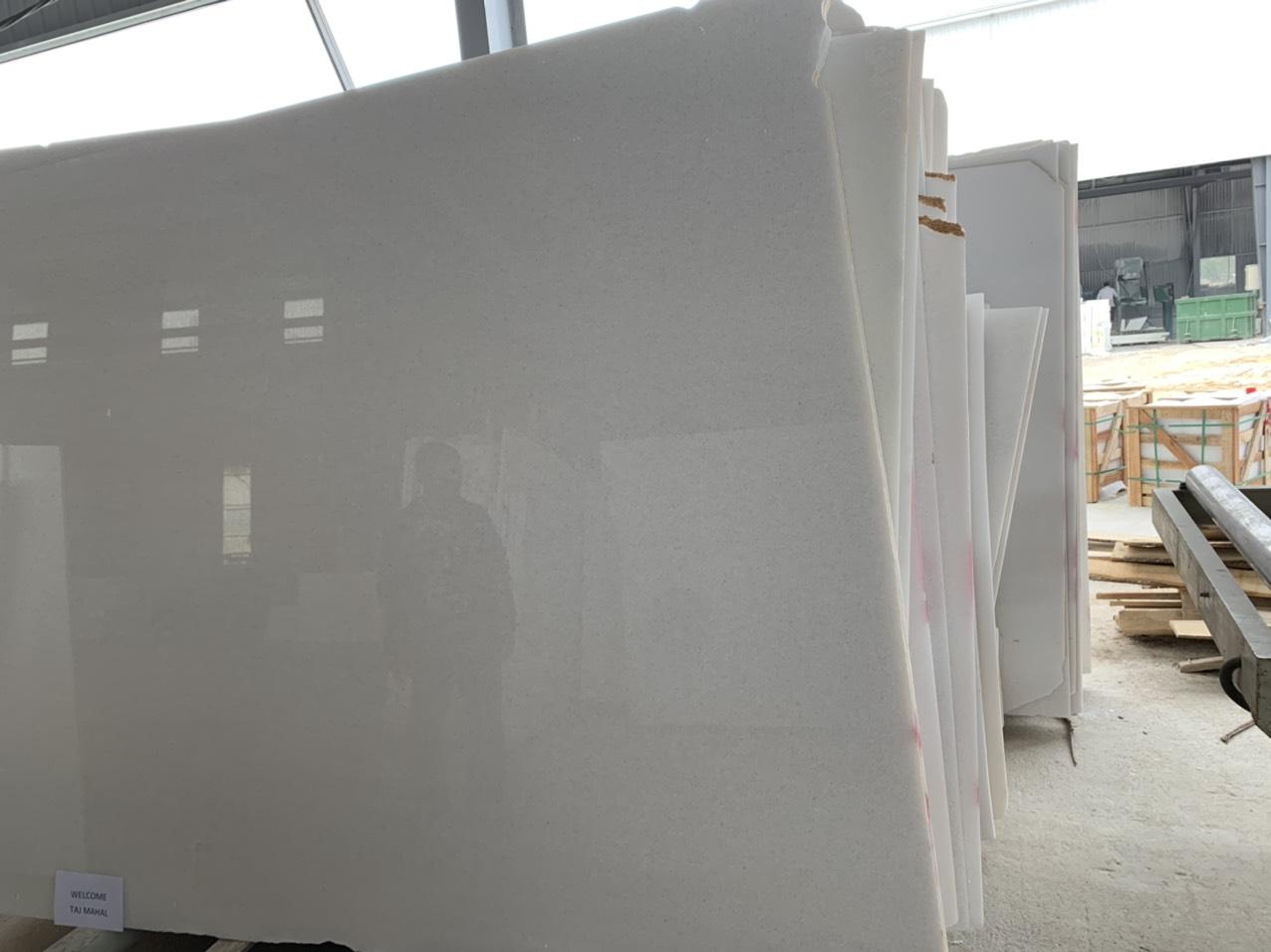 Vietnam white marble slab polished