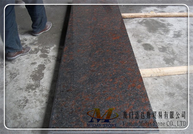 Tan Brown Blue Granite