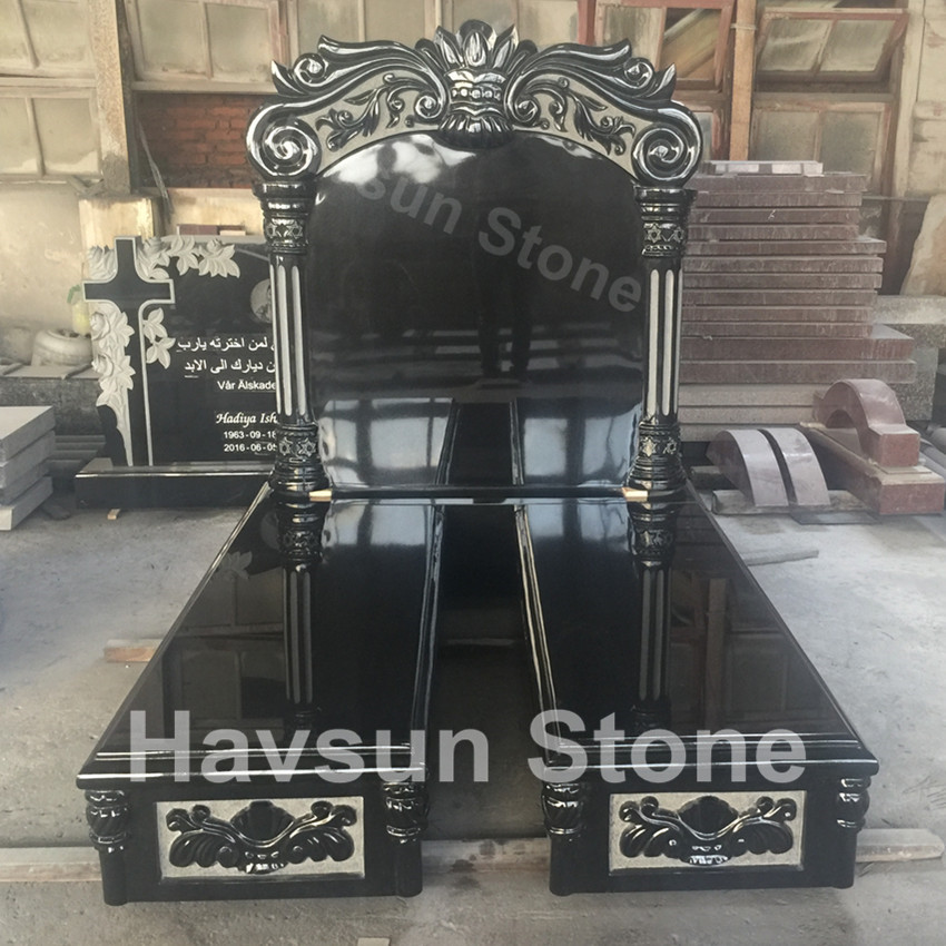 Exquisite USA  Jewish Style Tombstone Monument