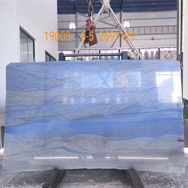 Blue Azul Macaubas Quartzite