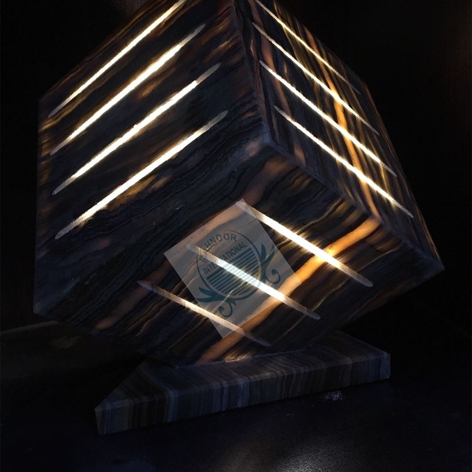 Pakistan Onyx Lamp