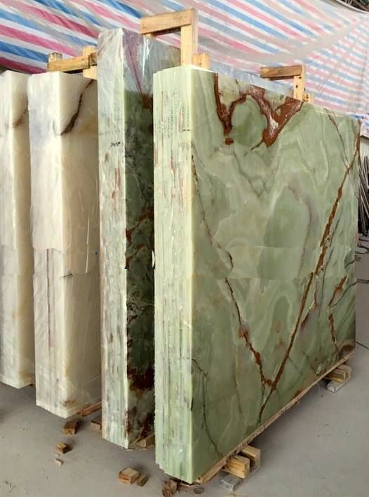 Green Onyx Slabs