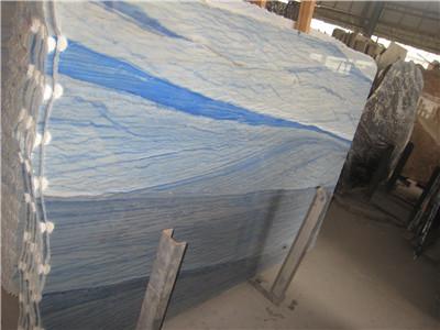 blue marble slabs
