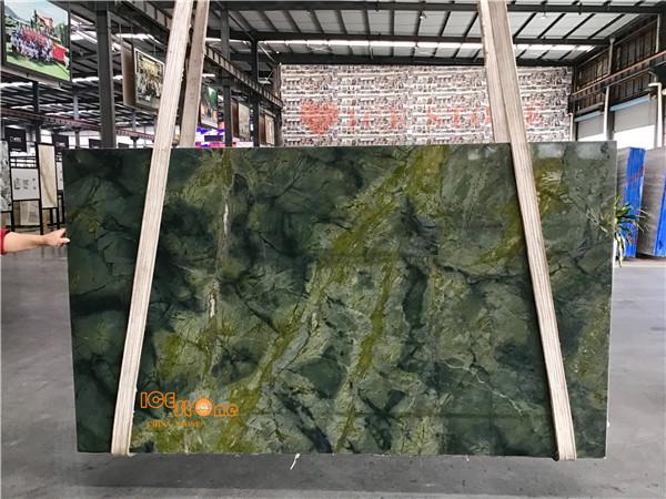 Emerald Verde Edinbergh China quartzite