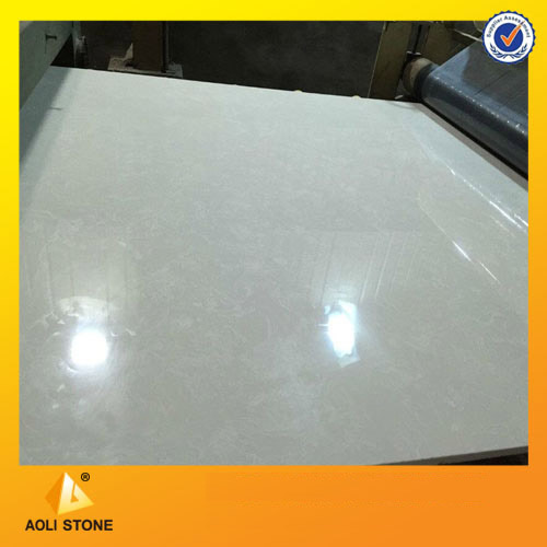 White Artificial marble stone slab