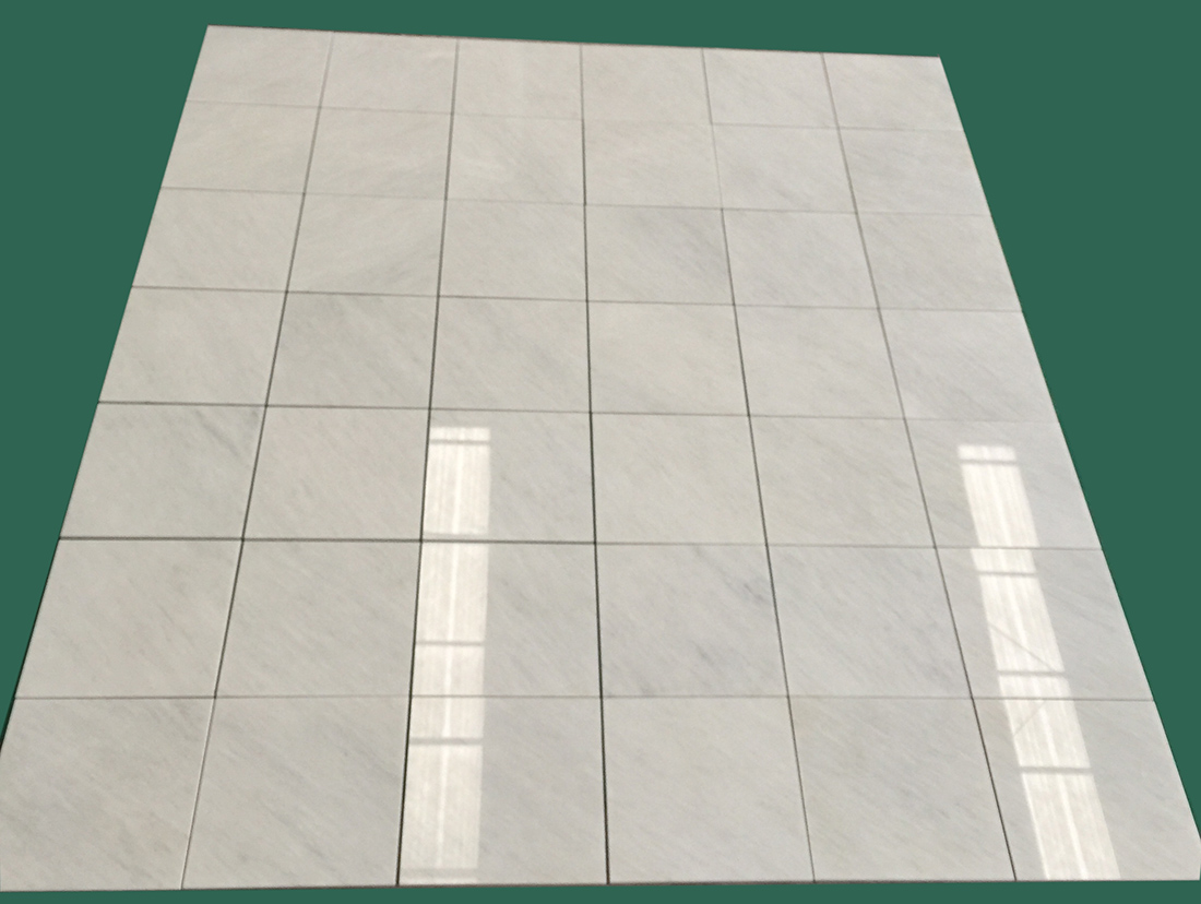 Polished Oriental White Marble Tiles For Promoting