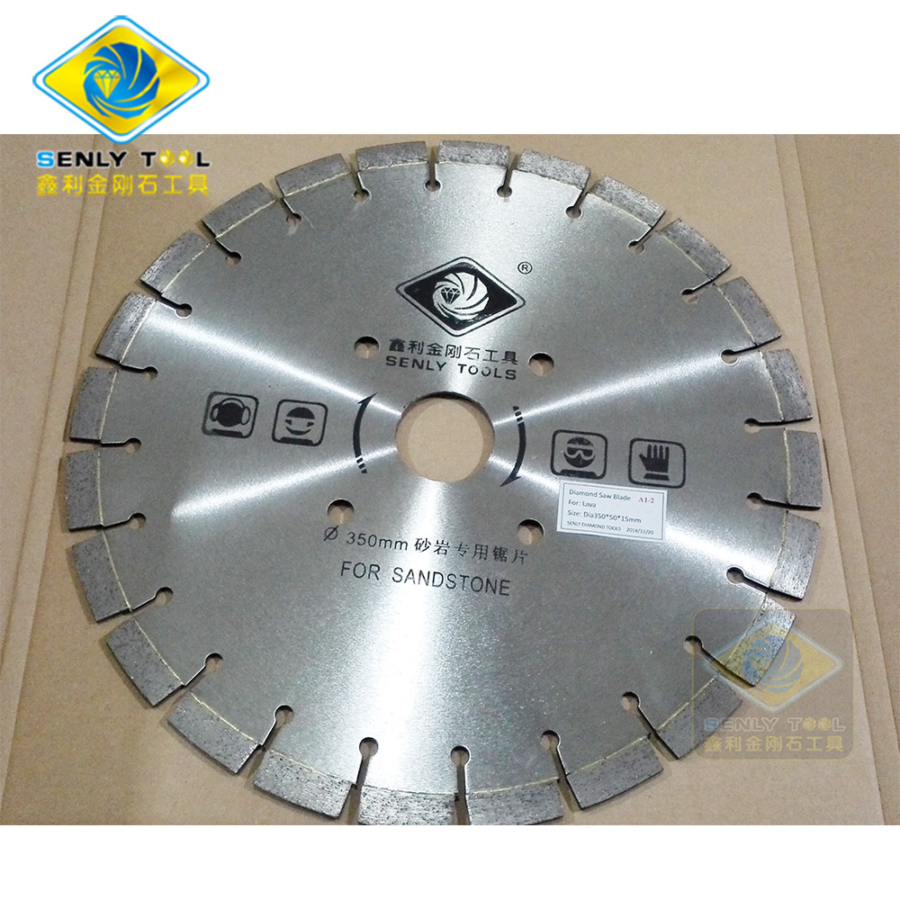 Dia 350mm Diamond Saw Blade for Sandstone Cutting
